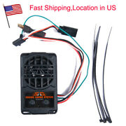5 Modes Engine Sound Simulator Kit For 1/10 Rc Model Car Truck On-road Us