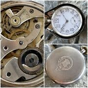 ✩ Antique George Stockwell [ Silver 0.925 ] Old Pocket Watch