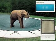 Ultra-loc Iii Solid Tan Cover For 18 X 36 Pool With Mesh Drain Panels