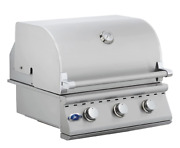 26and039and039 Stainless Steel Built In Outdoor Barbecue Island Grill 3 Burner Drop In Bbq