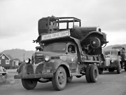 Salvage Recycling Old Trucks Wwii Historic Vintage Old Photo Multiple Sizes Usa