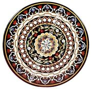 36 Scagliola Inlaid Marble Dining Center Table Top Handmade Garden Decor H3479a