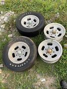 Shelby Slotted Mag Wheel And Tire Old School Vintage 6 Bolt E-70-14