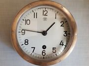 Used Boat Ship Watch Submarine Cabin Wall Clock Navy Military Vintage Ussr