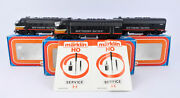 Marklin Ho Scale 3129/4129 Southern Pacific F7 A-a-a Diesel Engine Set