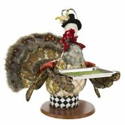 Mark Roberts 2020 Collection Server Turkey With Tray 19''