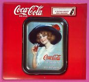 Coca-cola Tray 16-month 2004 Wall Calendar With Vintage Tray Photos And Histories