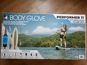 New Sup Body Glove Performer 11' Inflatable Stand Up Paddle Board Isup Triple