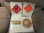 Cub Scout 1950-60's Rank Posters Bobcat To Arrow Of Light   Eb23