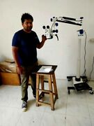 Branded 5 Step Dental Surgical Microscope Certified Iso And Ce And Indian Doctor