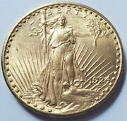 1924 Spectacular St Gaudens 20 Double Eagle 1oz Gold Coin