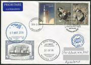 Space Mail Personal Flown Letter From Sweden To Space Station Iss/ Apollo-11
