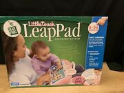Little Touch Leappad Learning System Pink W/ Bonus Little Leaps Leap Ahwad New
