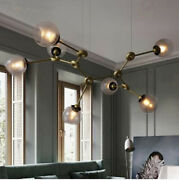 Nordic Living Room Led Glass Pendant Lighting Bedroom Dining Room Hanging Lamps