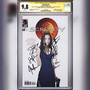 Cgc Ss 9.8 Serenity 3 Signed By Glau Torres Glass Maher Baccarin And Staite