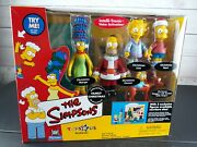 The Simpsonsfamily Christmas 2001 Tru Exclusive Electronic Playset