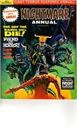 B6 Nightmare Annual 1972 Skywald Publicationsthe Day The Earth Will Die