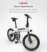 New Xiaomi Himo C20 Foldable Electric Moped Bicycle With Power Assist