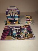 Lego Friends 41004 Rehearsal Stage 100 Complete W/ Manual No Box 2013