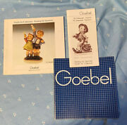 Goebel Hummel Guide For Collector 1982 And 1983 And One Other Undated Goebel Catalog