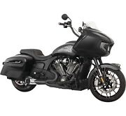 Freedom Performance In00280 Full Exhaust Turnout 2-1 Black Indian Challenger And03920