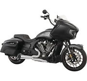 Freedom Performance In00276 Full Exhaust Turnout 2-1 Chrome Indian Challenger And0392