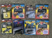 Lot Of 8 Batman Ertl And Hot Wheels Various Die-cast Cars 90s And 00s