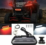 Rear Facing Chase Led Light By Arsenal Adjustable Tube Mount Rzr X3