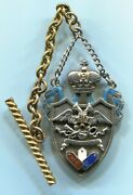 Imperial Russian Badge Usa Only Medal Order Cross Russia Silver Jeton