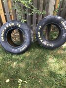 Nascar Goodyear Lot 2 Tire And Goodyear Tire Signed Tim Fedawa And Kyle Petty