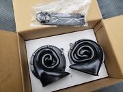 55-79 Universal New Horns Pair Delco Made In Usa Exact Reproduction Chevy