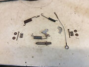 1966 And Other Ford Galaxie 500 Rh 11 Rear Brake Shoe Parts, Springs, Brackets