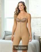 New Colombia Best Leonisa 18688 Firm Control Shaper Wide Thigh Knee Length Plus