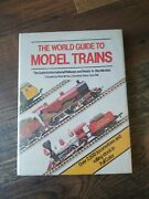 The World Guide To Model Trains Mchoy 1983 Hardbound Railway Book / Offer