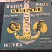 South Pacific Andndash Original Cast From 1949 Andndash 7 X 10andrdquo 78 Rpm Box Style Album- Mm-850