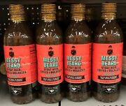 4 Bottles Fire And Smoke Society Messy Beard Classic Barbecue Sauce 16.4 Oz Bbq