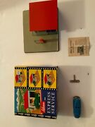 Tin Toy Schuco 1502 Express Service Shell Station Automatic - W.germany