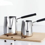Turkish Coffee Pots Stainless Steel Single Handle Chocolate Melting Container