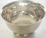 Paul Revere Reproduction 1227c Sterling Silver Footed Bowl 7