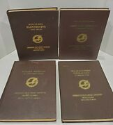 Lot Of 4 Consolidated Vultee Aircraft Corp. B-24 Bombardment And B-24 D Manuals