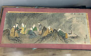 Authentic Chinese Scroll Paintings Hand-painted - Paper On Silkwith Signed