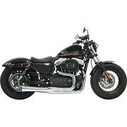 Bassani Chrome Road Rage Ii Mega Power 2-into-1 Exhaust System 04-13 Sportster
