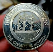 Historic Preservation Large Silver Medal The Charles W. Morgan
