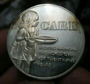 Historic Preservation Silver Medal Care Helping Mankind Postmasters Of America