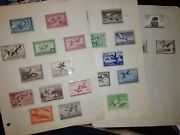 Department Of Interior Duck Stamps Mint Condition 1934-1962