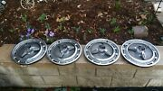 🔥 1965 1966 Chevrolet Impala Ss 327 396 409 Gm 14 Inch Spinner Hubcaps 3893599
