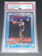 2019 Zion Williamson Panini Hoops Teal Explosion Rc 296 Psa 10