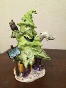 Heather Goldminc Halloween Do Not Feed The Tree Tealight Candle Holder 2009