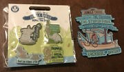 2020 Disney Parks Jungle Cruise 4 Pin Set Skipper Elephant Hippo And Magnet New
