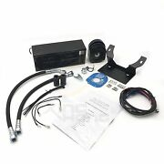 Motorcycle 2.0 Reefer Oil Cooler Fan Cooling System For Harley Touring 2009-2012
